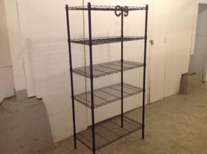 WIRE SHELVING UNIT ....reduced...!!!!!