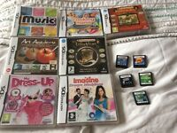 Various DS games £5 each