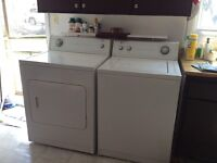 Roper by whirlpool extra large capacity washer and dryer
