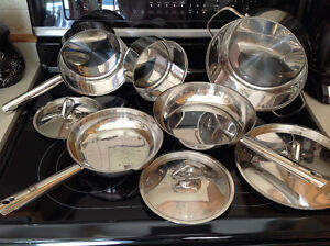 8 piece stainless steel cookware