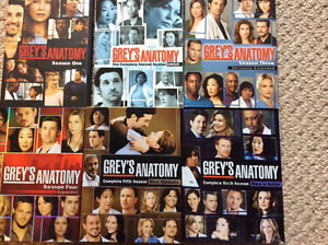 Grey's Anatomy DVD collection seasons 1-6