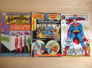 58 assorted comic books from the 60s and 70s