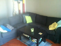 $500 sectional sofa - well maintained and comfortable