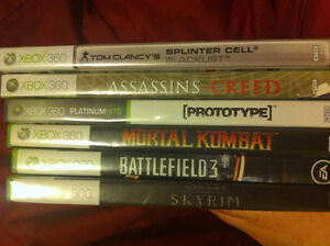 6 Xbox 360 games for sale! ALL TESTED AND WORK!