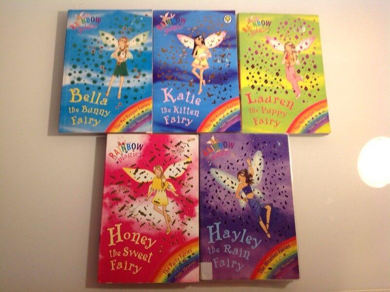 5 rainbow magic books