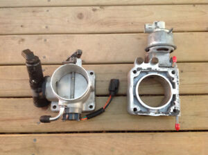 75mm throttle body and EGR plate