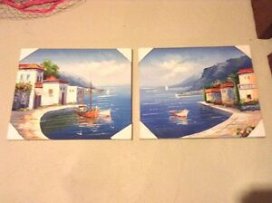 Two art painting prints