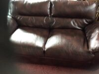 3 Seater settee fair condition
