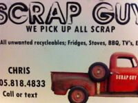 FREE PICK UP ALL SCRAP METALS APPLIANCES AND ELECTRONICS