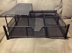 Wire Pull Out Drawer with Shelf