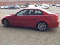 BMW318i 12 months mot in red