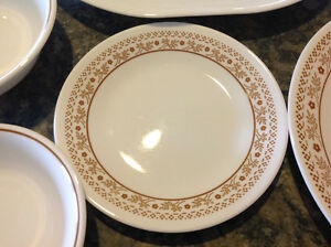 Set of CORELLE Dinnerware