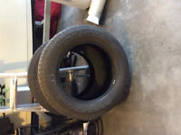 2  Goodyear tires for sale