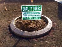 Landscape Curbing, Concrete Curbs, Garden Edging, Curbs