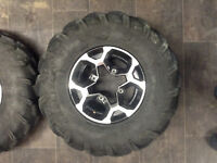 Can Am or Outlander wheels and tires