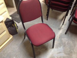 BANQUET STACKING CHAIRS...REDUCED.!!!!!!!!!!