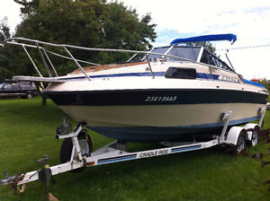 21ft Sunray Ciera with trailer and down rigging gear