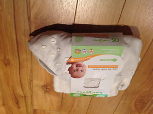 Bum genius os cloth diaper pocket style cover with snaps