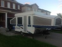 2010 Jayco 10 foot pop-up trailer
