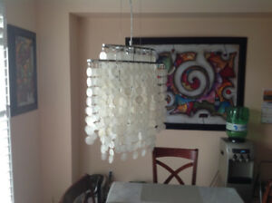 Two lighting fixtures for sale