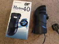 Hydro 40 filter for marine fish tank