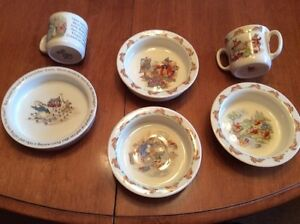Collectors Baby Bunny Kin Dishes & Mugs
