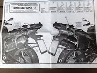 Monokey Pannier Racks for BMW F650 and 800 GS 08 ton11