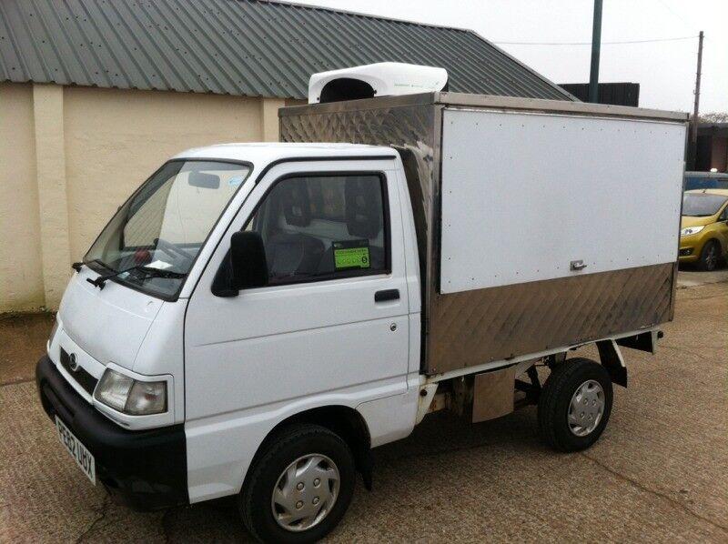 Daihatsu Hijet Jiffy Hot Col Food Truck 13 Petrol 2002 02 Reg