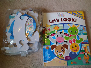 Baby Einstein - First Look and Find Book and Giant Floor Puzzle