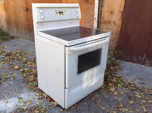Glass Top Electric Stove for Parts