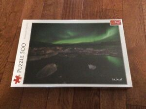 Northern lights Iceland puzzle