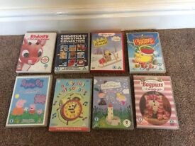 Children's Christmas DVDs and others