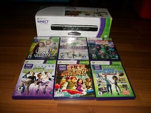 Kinect and Games for Xbox 360 - only $50!