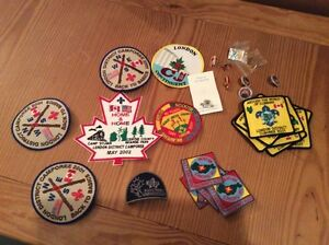Scout badges, misc. pins. Free