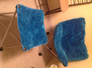 Butterfly chair with ottoman like new Kingston Kingston Area image 1
