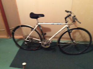 Two cross trainer bikes for sale..price is for both.