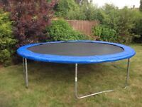 Bouncepower 14ft Trampoline including enclosure