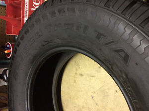 Brand new BFGoodrich Rugged Trail Tires for sale. LT275/75R17
