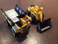 Fisher Price Steel Force Trucks - EXCELLENT CONDITION