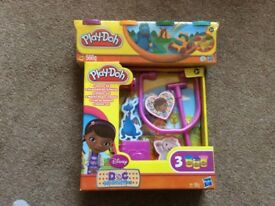 Doc Mcstuffins play doh and an extra pack brand new