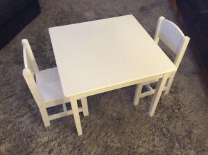 Kidcraft Children's Table and Chair set
