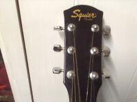 Fender Squire acoustic guitarprice reduced