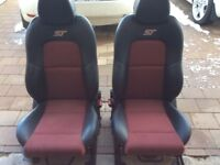 Fiesta ST full seat set