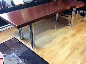 SOLID WOOD DESK/MEETING TABLE