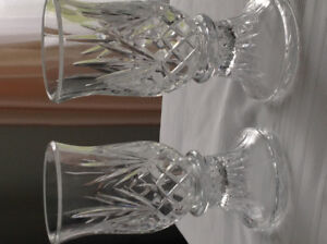 Partylite Crystal Savannah candle holders