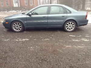 2002 Volvo S80 Sedan Twin Turbo