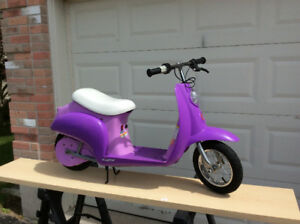 Razor Childs Battery Operated Moped Euro-Style Scooter