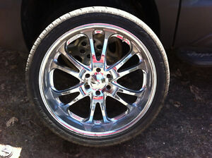 Reduced Boss Rims for GMC or CHEVY