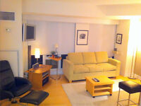 URGENT Fully Furnished Studio Opp to Eaton center Available
