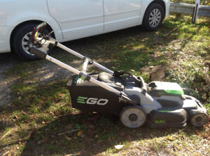 Electric ECO LawnMower with Battery & Charger & Bag